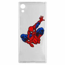 Чехол для Sony Xperia XA1 Spiderman - FatLine