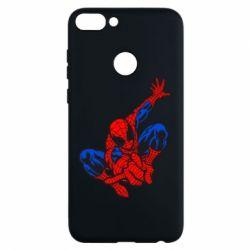 Чехол для Huawei P Smart Spiderman - FatLine