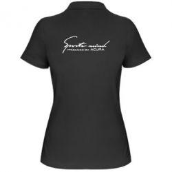 Жіноча футболка поло Sport mini produced by acura