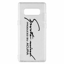 Чохол для Samsung Note 8 Sport mini produced by acura