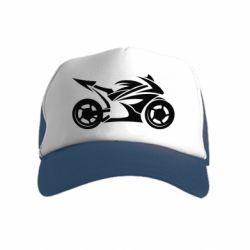 Дитяча кепка-тракер Спортивный байк
