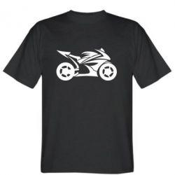 Мужская футболка Спортивный байк - FatLine