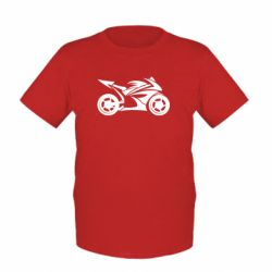 Детская футболка Спортивный байк - FatLine