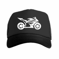 Кепка-тракер Спортивный байк - FatLine