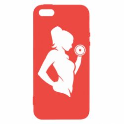 Чохол для iphone 5/5S/SE Sports Girl