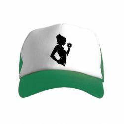 Дитяча кепка-тракер Sports Girl
