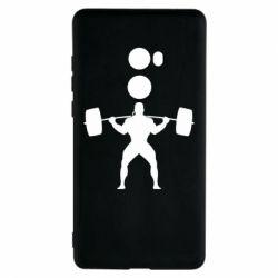 Чехол для Xiaomi Mi Mix 2 Спортсмен со штангой