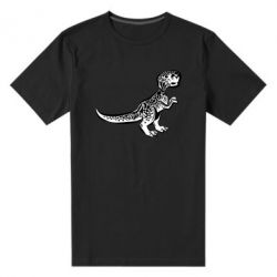 Чоловіча стрейчева футболка Spotted baby dinosaur
