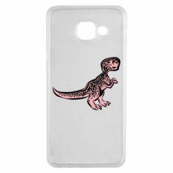 Чохол для Samsung A3 2016 Spotted baby dinosaur