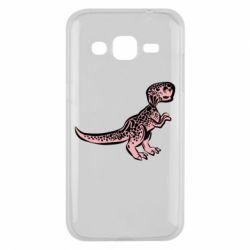 Чохол для Samsung J2 2015 Spotted baby dinosaur