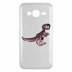 Чохол для Samsung J3 2016 Spotted baby dinosaur