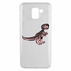Чохол для Samsung J6 Spotted baby dinosaur