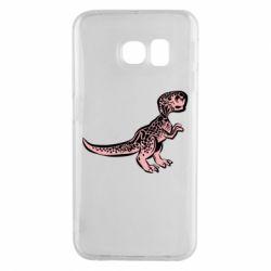 Чохол для Samsung S6 EDGE Spotted baby dinosaur