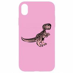 Чохол для iPhone XR Spotted baby dinosaur