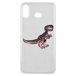 Чохол для Samsung A6s Spotted baby dinosaur
