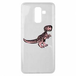 Чохол для Samsung J8 2018 Spotted baby dinosaur