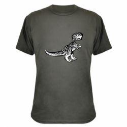Камуфляжна футболка Spotted baby dinosaur