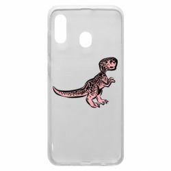 Чохол для Samsung A20 Spotted baby dinosaur