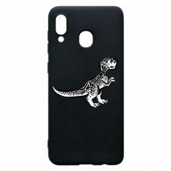 Чохол для Samsung A30 Spotted baby dinosaur