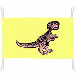 Прапор Spotted baby dinosaur