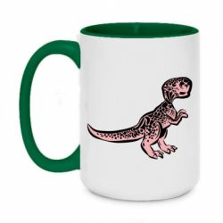 Кружка двоколірна 420ml Spotted baby dinosaur