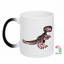 Кружка-хамелеон Spotted baby dinosaur