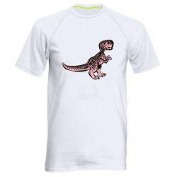 Чоловіча спортивна футболка Spotted baby dinosaur