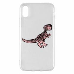 Чохол для iPhone X/Xs Spotted baby dinosaur