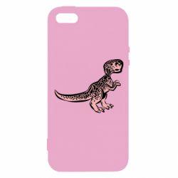 Чохол для iphone 5/5S/SE Spotted baby dinosaur