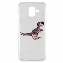Чохол для Samsung A6 2018 Spotted baby dinosaur