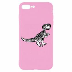 Чохол для iPhone 8 Plus Spotted baby dinosaur