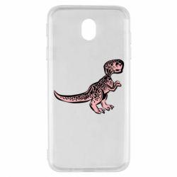 Чохол для Samsung J7 2017 Spotted baby dinosaur