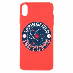 Чохол для iPhone X/Xs Springfield Isotopes