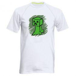Мужская спортивная футболка Сreeper