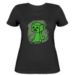 Женская футболка Сreeper