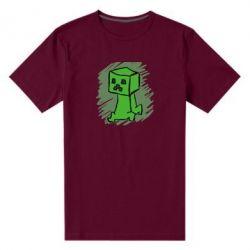 Мужская стрейчевая футболка Сreeper