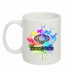 Кружка 320ml SsangYong Art