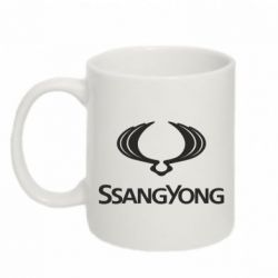 Кружка 320ml SsangYong Logo - FatLine
