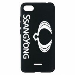 Чохол для Xiaomi Redmi 6A SsangYong Logo