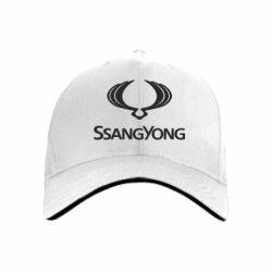 Кепка SsangYong Logo - FatLine