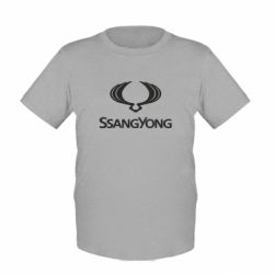 Детская футболка SsangYong Logo