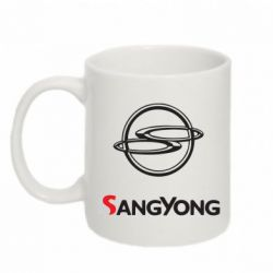 Кружка 320ml SsangYong - FatLine