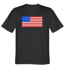 Мужская футболка США - FatLine