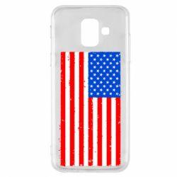 Купить Страны, Чехол для Samsung A6 2018 США, FatLine