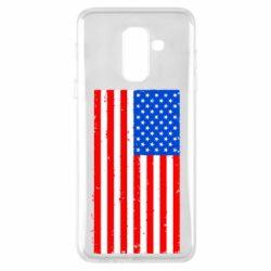 Купить Страны, Чехол для Samsung A6+ 2018 США, FatLine
