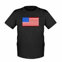 Детская футболка США - FatLine