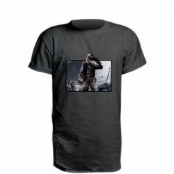 Подовжена футболка Stalker art
