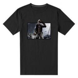 Чоловіча стрейчева футболка Stalker art