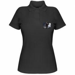 Жіноча футболка поло Stalker art