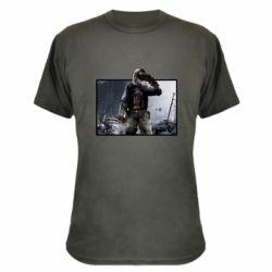 Камуфляжна футболка Stalker art